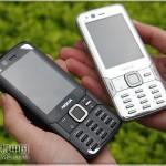 Nokia N82 schwarz/silber