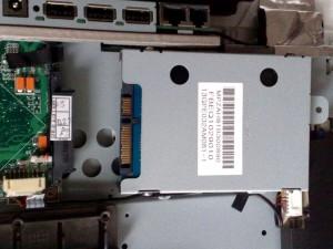 Festplatte abziehen