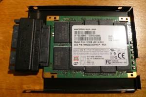 SSD im Einbaurahmen